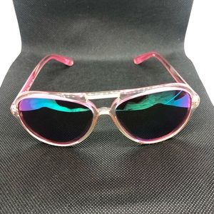 Michael Kors hot pink sunglasses